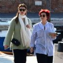 Sharon and Aimee Osbourne out in Venice - 454 x 464