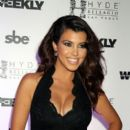 Kourtney Kardashian arrives at Hyde Bellagio at the Bellagio to host the Labor Day weekend bash at Hyde Nightclub, Bellagio Hotel and Casino in Las Vegas