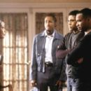 Gabrielle Union (far left), Dartanyan Edmonds (left), Mel Jackson (right) and Duane Martin (far right) in Focus' Deliver Us From Eva - 2003 - 454 x 302