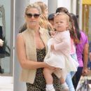 Ali Larter is spotted out for lunch with her daughter Vivienne at the M Cafe in Beverly Hills, California on June 10, 2016