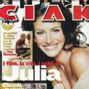 Julia Roberts - Ciak Magazine Cover [Italy] (4 April 2001)