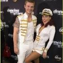Sharna Burgess and Nick Carter
