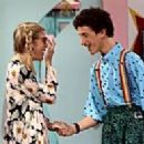 Tori Spelling and Dustin Diamond