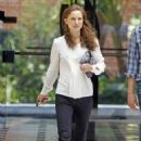 Natalie Portman exiting an office building in Beverly Hills, CA (August 10)