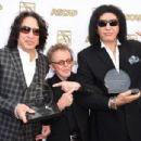Gene Simmons, Paul Williams, and Paul Stanley attends the 32nd Annual ASCAP Pop Music Awards held at The Loews Hollywood Hotel on April 29, 2015 in Hollywood, California. - 454 x 304