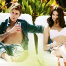 Kendall Jenner, Gigi Hadid, Justin Bieber, Ansel Elgort, Dylan Penn, Hopper Penn - Vogue Magazine Pictorial [United States] (April 2015)