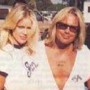 Vince Neil and Heidi Mark