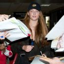 Sophie Turner arrives at Comic-Con
