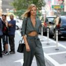 Nadine Leopold – Arrives at Victoria's Secret Auditions in New York - 454 x 681