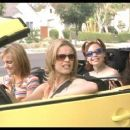 Anna Faris (front left), Rachel McAdams (front right), Maritza Murray (back right) and Alexandra Holden (back left) in Touchstone's The Hot Chick - 2002
