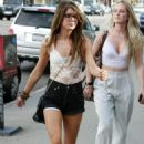 Shenae Grimes And Some Friends Seen Heading To The 'Opening Ceremony' Store In West Hollywood, 2009-08-28