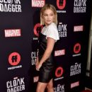 Olivia Holt – Cloak and Dagger Screening In West Hollywood