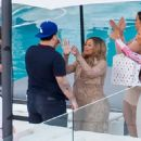 Blac Chyna and Rob Kardashian at Their Baby Shower in Woodland Hills, California - October 3, 2016
