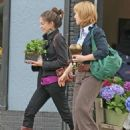 Kristin Kreuk and Allison Mack – Shopping in Vancouver - 454 x 605