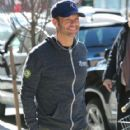 Ryan Seacrest spotted outside his hotel in New York City, New York on January 25, 2015