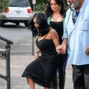 Nicole 'Snooki' Polizzi stop by the 'Extra' set January 26,2015 - 397 x 600