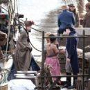 Gabriella Wilde – Filming 'Poldark' in Charleston - 454 x 322