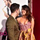 Priyanka Chopra and Nick Jonas : Premiere Of Warner Bros. Pictures' 'Isn't It Romantic - 442 x 600