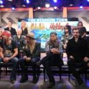 Poison, Mötley Crüe & Def Leppard Poison attend the press conference for THE STADIUM TOUR DEF LEPPARD - MOTLEY CRUE - POISON at SiriusXM Studios on December 04, 2019 in Los Angeles, California - 454 x 303