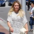 Hilary Duff at the Doctor's office
