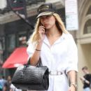 Hailey Baldwin Goes Out for a Stroll in NYC - July 1, 2016