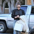 Elizabeth Olsen – Shopping on Melrose Place in Los Angeles 10/28/ 2016