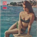 Daliah Lavi - Filmski svet Magazine Pictorial [Yugoslavia (Serbia and Montenegro)] (9 July 1964) - 454 x 632
