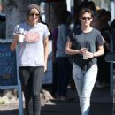Kristen Stewart In Jeans Out and About In La