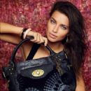 Adriana Lima for Desigual Fall/Winter 2014 ad campaign
