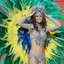 Priscila Machado- Miss Universe 2011- Preliminary Competition- National Costume - 399 x 600