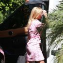 Reese Witherspoon in Pink Dress – Out in Beverly Hills - 454 x 718