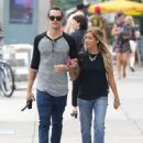 Ashley Tisdale and Christopher French out in New York City (August 9)