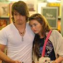 Random photos of Miley Cyrus, Justin Gaston - 437 x 569