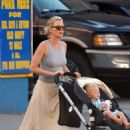 Gretchen Mol Pushes Her Son Ptolemy John Williams