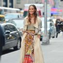 Joan Smalls – Doing a photoshoot in New York - 454 x 628