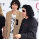 KISS frontman Gene Simmons takes his family to Hasting Racetrack in Vancouver, Canada. The