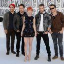 Paramore at 2010 MTV VMA's - September 12