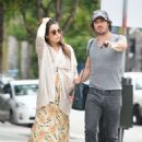Nikki Reed with Ian Somerhalder out in Los Angeles - 454 x 662