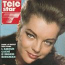 Romy Schneider - Télé Star Magazine Cover [France] (22 October 1990)