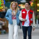 Sophie Turner and Joe Jonas out for an evening walk in NY May 10, 2017