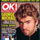 George Michael - OK! Magazine Cover [United Kingdom] (10 January 2017)