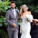 Brandon Jenner and Leah Felder's wedding in Hawaii (May 31) - 454 x 620