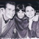 James Garner, Gigi Garner and Lois Clarke Garner