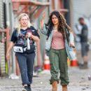 Salma Hayek – Filming 'Bliss' in Los Angeles