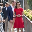 The Duke and Duchess of Cambridge Visit YoungMinds Mental Health Charity Helpline