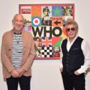 Pete Townshend and Roger Daltrey Of The Who Reveal Sir Peter Blake Designed New Album Cover at Pace Gallery on September 12, 2019 in New York City - 454 x 371