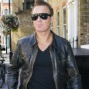 Martin Kemp Arrives at His London Hotel - 405 x 594