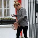 Fearne Cotton: runs errands in London