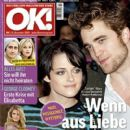 Robert Pattinson, Kristen Stewart, Heidi Klum, Jake Gyllenhaal, Reese Witherspoon - OK! Magazine Cover [Germany] (10 December 2009)