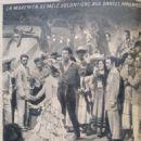 Quand sonnera midi - Cine Revelation Magazine Pictorial [France] (3 October 1957)